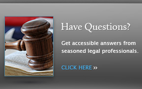 Get accessible answers from seasoned legal professionals.