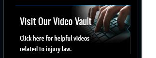 Watch our helpful videos related to injury law.