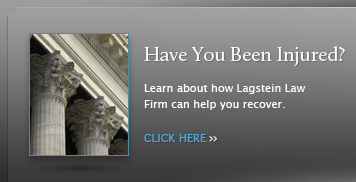 Learn how Lagstein Law Firm can help you get compensation