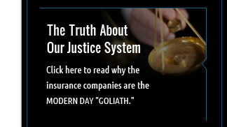 Read the truth about the justice system and insurance companies.